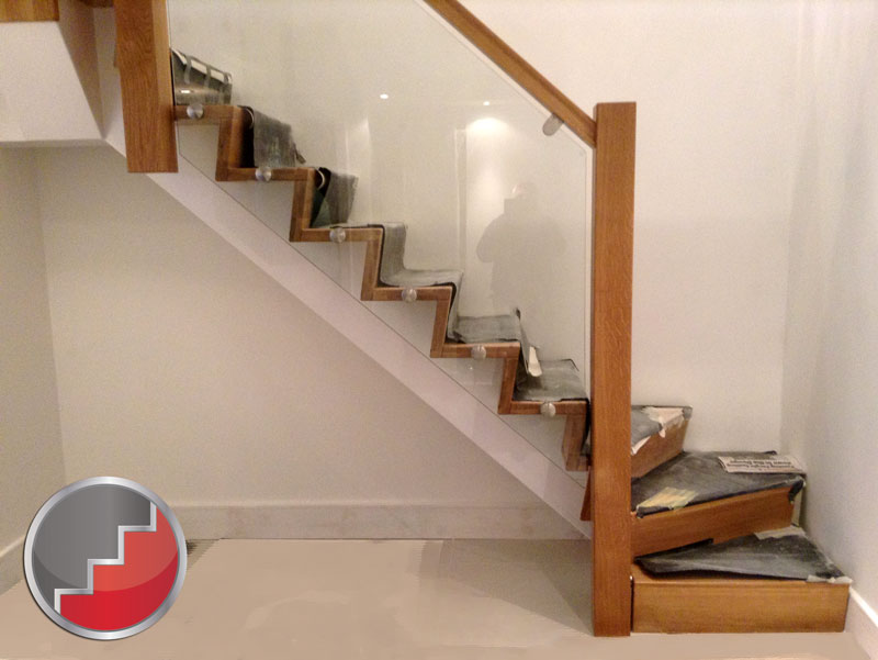 Oak Z Vision Winder Staircase