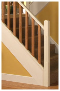 Double Read Spindles And Newel Posts