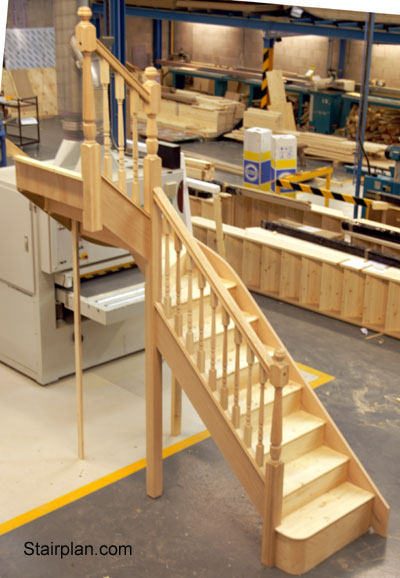 Winder Staircases From Stairplan The Manufacturers Of