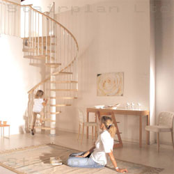 Spiral Staircases from Stairplan klan spiral staircase shown