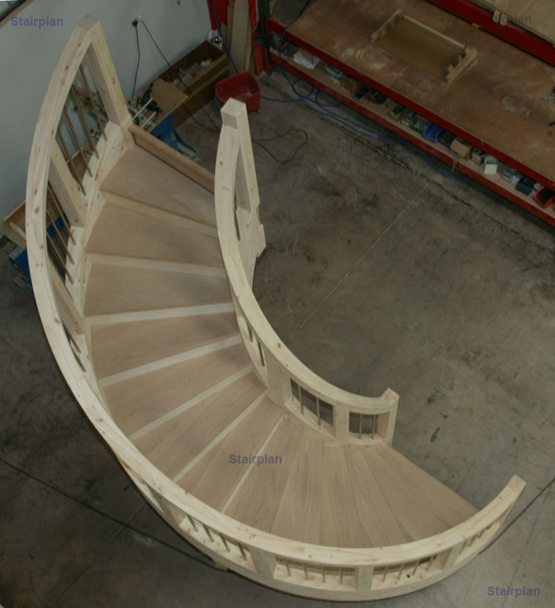 Stairplan C Staircase | Feature Geometric Circular Staircase