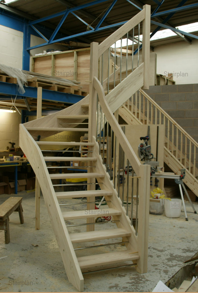 Open Stair Construction Pictures To Pin On Pinterest