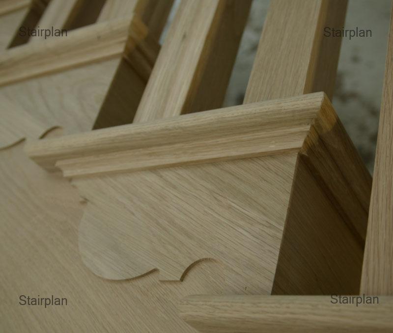 Oak Cut String Staircase Oak Staircases