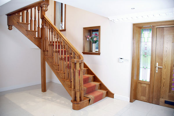 Brooklyn Oak Staircase Design
