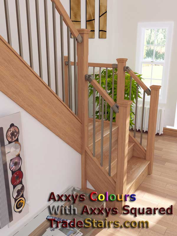Axxys Squared Cream Colours Stairparts