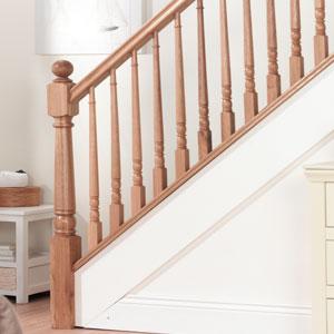 Tapered Oak Stair Spindles Range