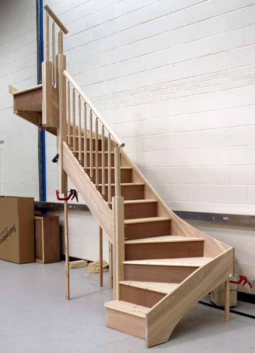 Individual staircases staircases from stairplan the for Building winder stairs