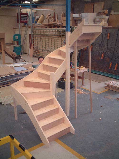 Double winder Staircase