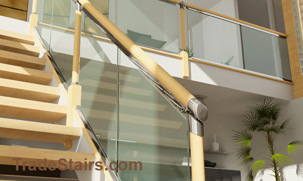 Axxys Clarity clear balustrade