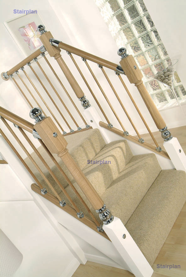 Axxys oak stair parts