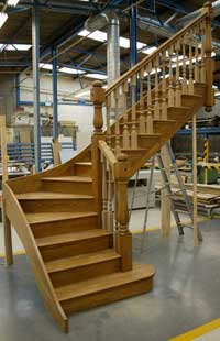 Custom Hand Made Oak Staircases ...