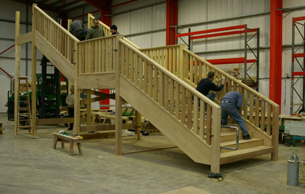 Stairplans Joinery Workshop Production Facility