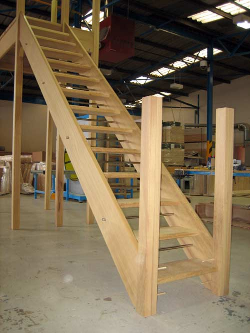 External Staircases Timber From Stairplan