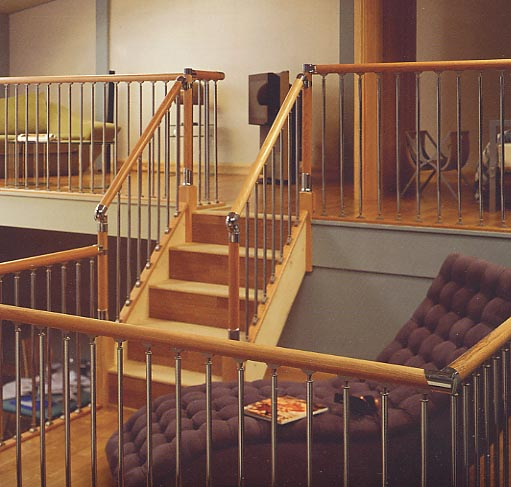 Fusion Handrail System For Staircases Fusion Stairparts Stairs