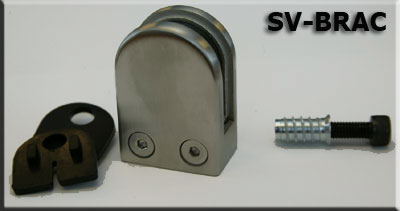 S-Vision Glass Brackets