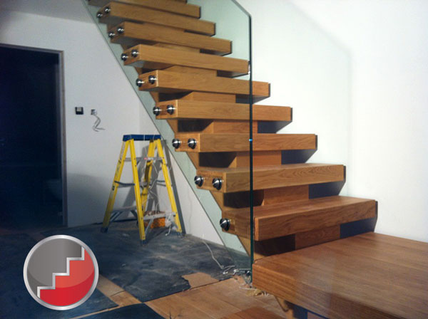 X Vision Oak Staircases Contemporary Staircase