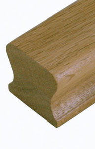 oak handrails from cheshire mouldings