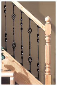 Metal Balusters for stair banisters