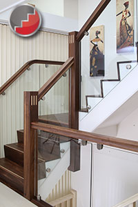 Ideas for Black Walnut staircases