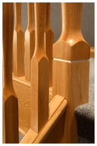 Modus Newel Base Detail