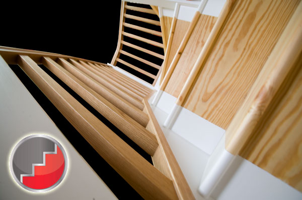 Newark Oak Winder Staircase