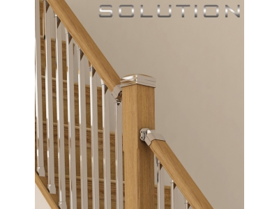Solution stairparts intermediate newel post