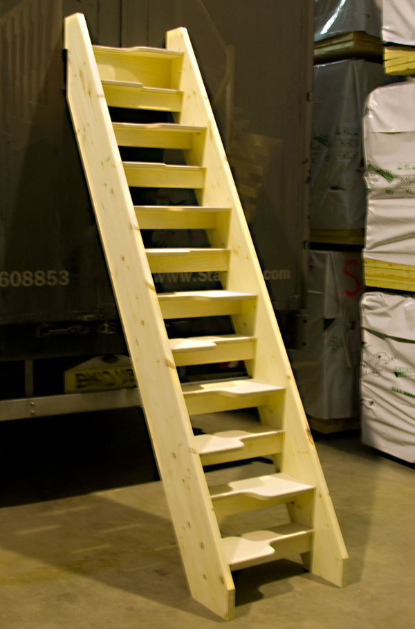 New birch 24 openplan loft staircase for Loft stairs plans
