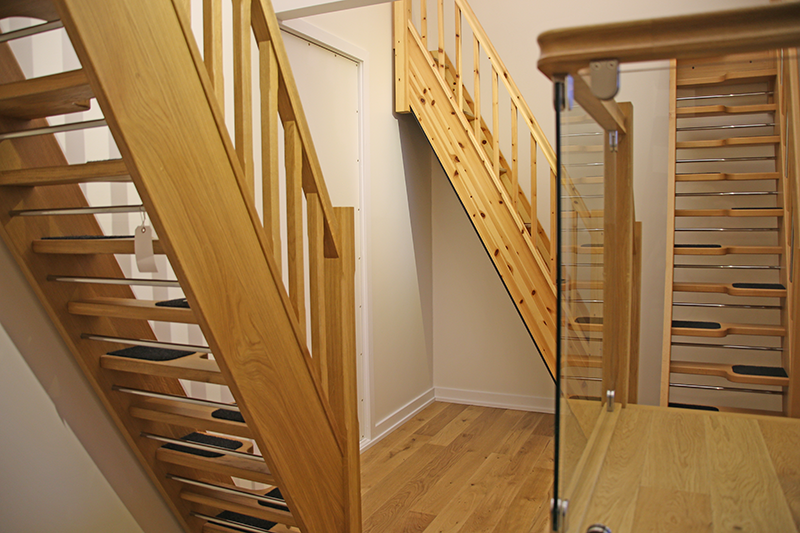 Space Saver Staircases On Display In Our Showroom