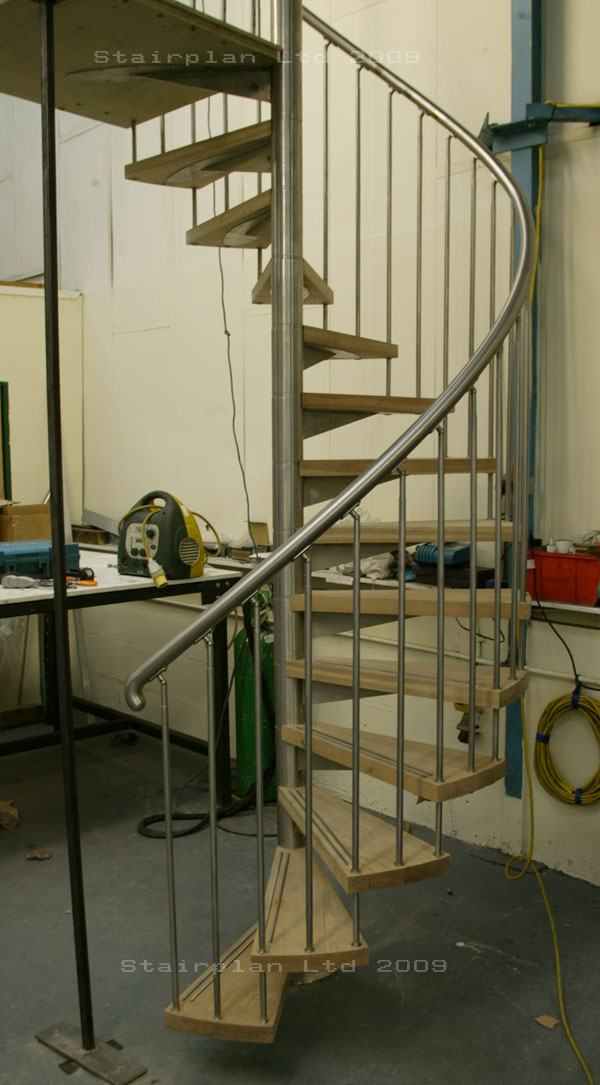 Custom made spiral staircases for Pre made spiral staircase