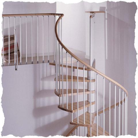 Klan Spiral Staircase Landing Detail