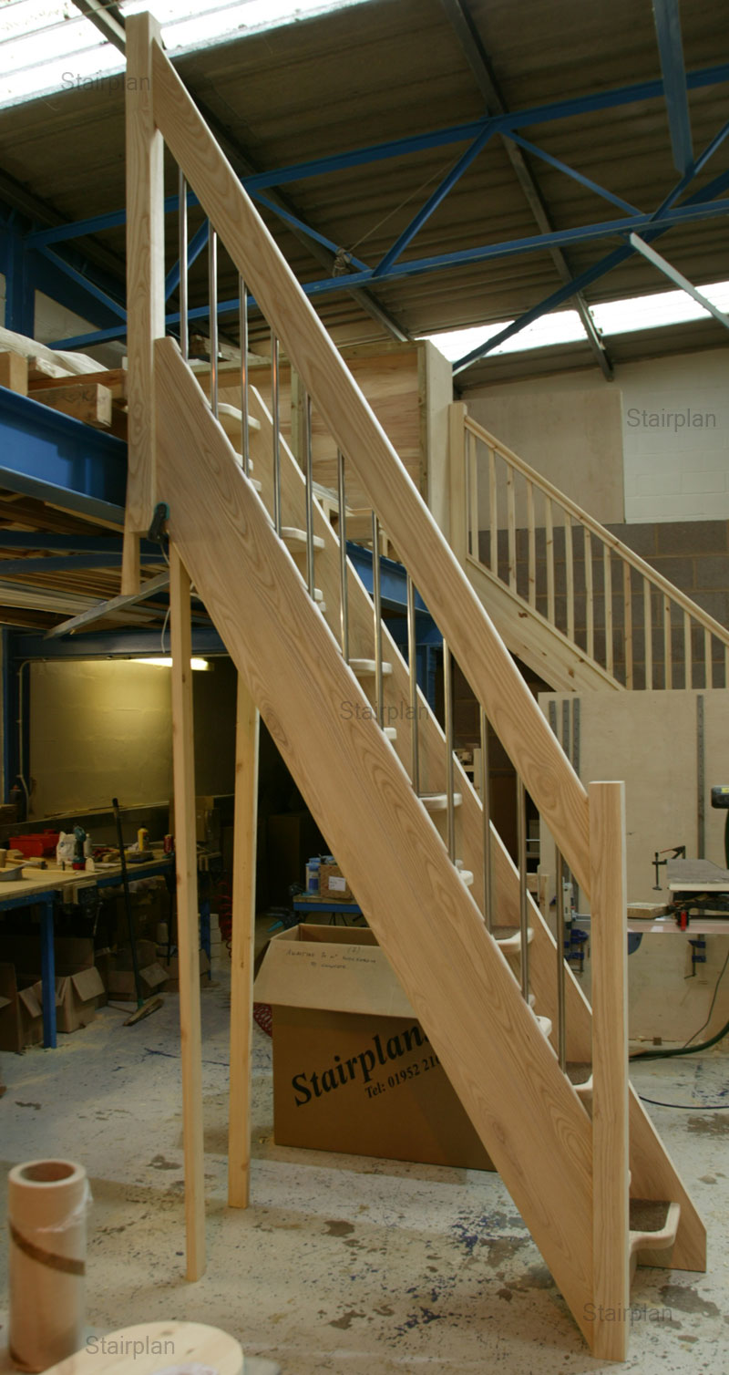 Ash Space Saver Staircases for lofts