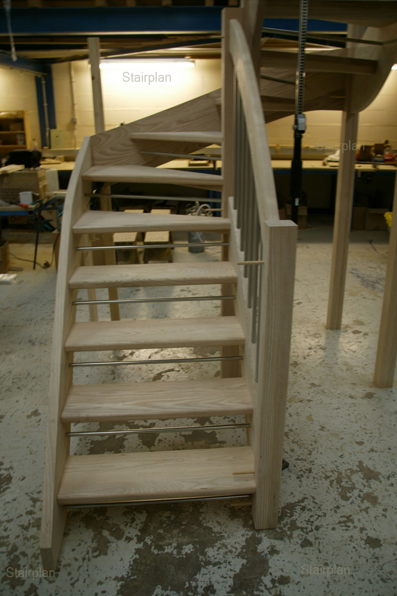 Ash 40mm Treads this premium staircase