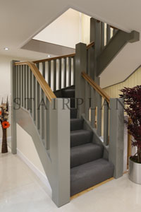 stair for barn conversions and farm houses