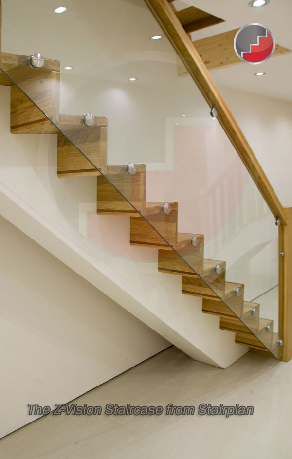 Z Vision Staircase Ultimate Modern Oak Staircase