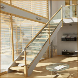 Axxys Clarity Stair Balustrade