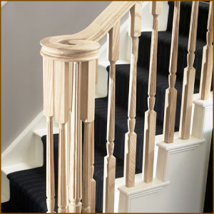 Classic Ash Stair Balustrade
