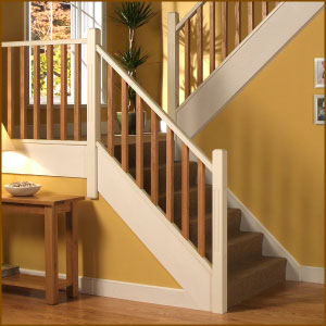 Double Reed Balustrade from Cheshire Mouldings