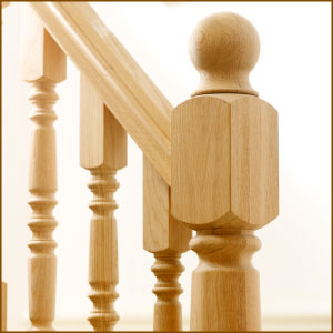 Richard Burbridge Oak Heritage Balustrade