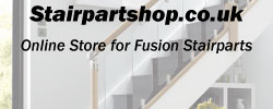 order fusion stairparts through stairpartshop.co.uk