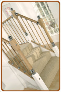 Axxys Stairparts with oak dowel spindles