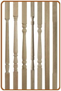 Exceptionnel Oak Stair Spindles