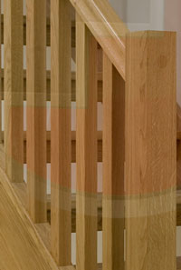 Select Oak 41mm Square Oak Stair Balusters Available From Only £4.50 + VAT  Click Here