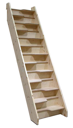 Exceptionnel Birch 24 Space Saver Staircase