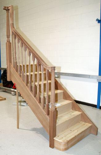 Continuous Handrail. Again A Bullnose ...