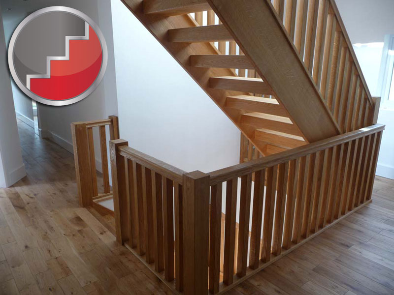 Oak townsend staircase design