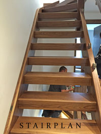 Walnut Townsend Staircase design
