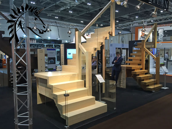 New V Vision staircase new design for 2015