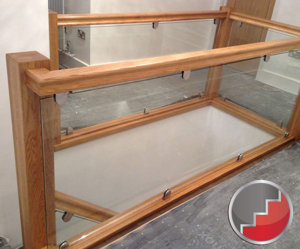 Landing Glass Balustrade